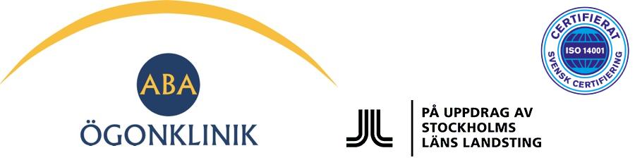 ABA Ögonklinik banner